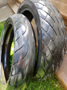 Street motorcycle tires  $100obo for pair
