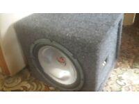 kenwood bass box