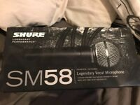 Genuine Shure SM58 - Cardioid Microphone
