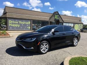 2016 Chrysler 200 Limited/CARPROOF CLEAN/CLOTH/HEATED SEATS