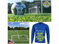 ***6 A SIDE FOOTBALL TEAMS WANTED NOW IN BASINGSTOKE FOR IMMEDIATE START***