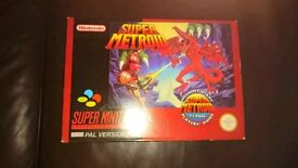 Super Metroid Snes game