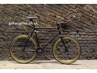 Special Offer GOKU CYCLES Steel Frame Single speed road bike TRACK bike fixed gear BIKE 3e2