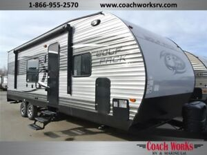 2015 Wolf Pack 27 WP Toy Hauler Toyhauler Blowout Call Mike