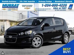 2016 Chevrolet Sonic LT Auto *Remote Start, Heated Seats, OnStar