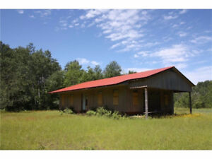 100 acres farm off-grid 2 homes NE of Barry's Bay creek wildlife