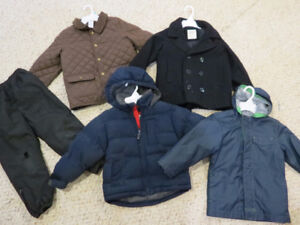 Lot of boys Winter/fall/Spring coats- Size 5