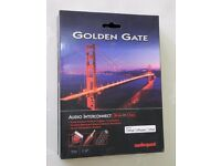 AUDIOQUEST GOLDEN GATE AUDIO CONNECT CABLE FOR iPod