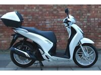 Honda SH 125 ABS (14 REG), Immaculate condition with ONLY 1700 miles, ONE owner!
