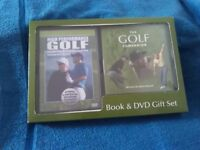 Gift set dvd and video of GOLF