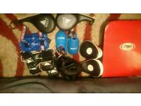 Mixed sparring and MA PPE gear