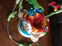 Fisher price baby jumperoo toy