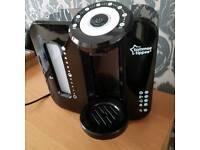 Black Tommee Tippee Black Prep Machine fantastic condition