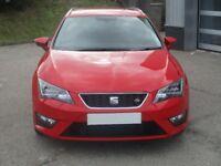 SEAT Leon TDI FR TECHNOLOGY DSG (red) 2015-03-31
