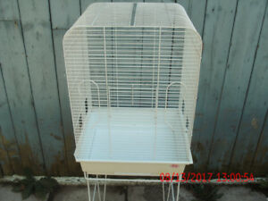 TALL BIRD CAGE WITH STAND