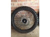Tyres 125cc off road bike