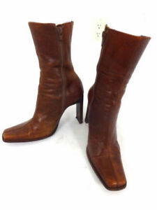 Steve Madden Women's Leather Boots Size 8 , $ 30