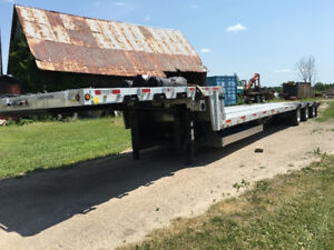 Lode king step deck drop deck trailer