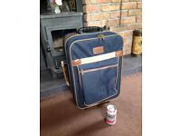 Small travel case , cabin luggage with wheels