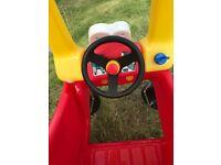 Kids sit & ride car