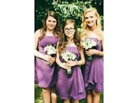 3off Tiffany Purple Bridesmaid Dresses