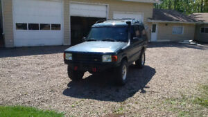 1997 Land Rover Discovery Off Road Modified ** Needs to go **