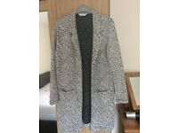 Miss selfridge long Jacket size 12