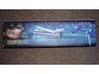 Carmen C81003L Hair Curling Tongs in Lime