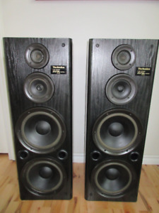 2 Technics SB-A34A Black Loudspeakers