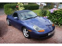 !!!! 1999 PORSCHE BOXSTER 2.5 5 SPEED MOT MAY 2018 ZENITH BLUE METALLIC !!!!