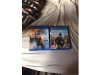 Watch Dogs 2 and Battlefield 1