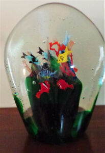 MURANO GLASS FROM ITALY - ONE-OF-A-KIND - GREAT GIFT !
