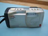 Olympus Camedia C-840L Digital Camera SmartMedia Card Strap Booklet C 840 L