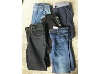 *REDUCED FOR QUICK SALE*Boys jeans/bottoms bundle (8-9)
