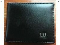 Black bifold wallet new