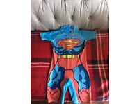 Superman uv swim sun suit from next