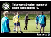 Football Coach and (Assistant) Team Manager Wanted