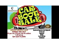 ⭐️Car boot sale this sunday⭐️