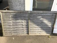 7 x Fence Panels