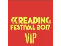 READING FESTIVAL TICKETS - FULL WEEKEND CAMPING - WITH GUEST VIP ACCESS