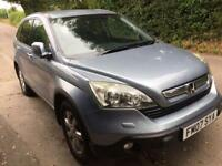 Honda CR-V Crv Diesel 2.2 CDTi long mot fsh maps camera