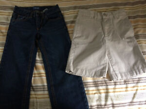 Size 8-Slim Jeans and Shorts