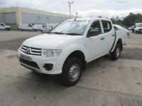 Mitsubishi L200 Double Cab Di-D 4Work 4Wd 134Bhp [2010] DIESEL MANUAL (2014)