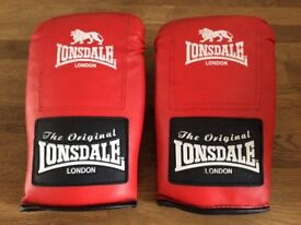 Pair Of Lonsdale Boxing Gloves