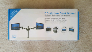 Dual Monitor Desk Mount 27""