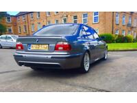 BMW E39 530D M SPORT FACE LIFT CHAMPAGNE GREY LOOKS DRIVES SUPPERB 12 MONTHS MOT PX CONSIDERD