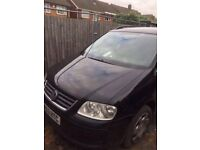 Volkswagen Touran 1.9 TDI 2004 53 Plate 6 Speed Manual -- Breaking Wheel Bolt