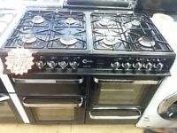 FLAVEL 100CM BRAND NEW DUAL FUEL RANGE STYLE COOKER