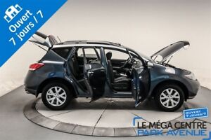 2014 Nissan Murano SL, AWD, TOIT, CUIR, BANCS CHAUFFANTS