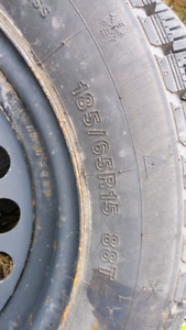 Eternity snow tires, used 1 season